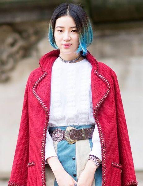 رنگ موی Irene Kim
